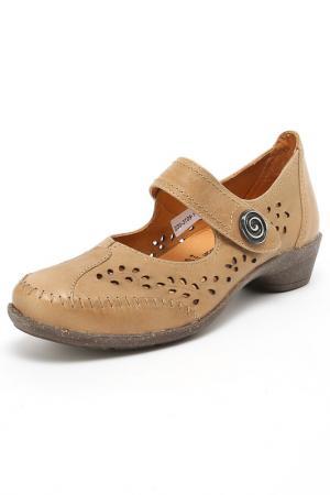 Туфли Comodo. Цвет: коричневый