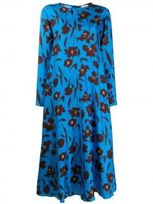 Платье с цветочным принтом Alysi