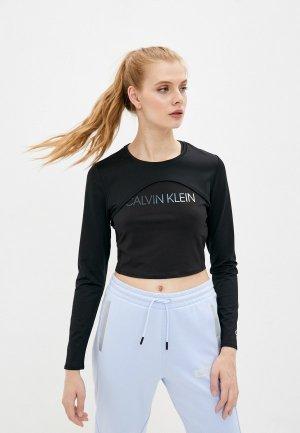 Майки 2 шт. Calvin Klein Performance. Цвет: черный