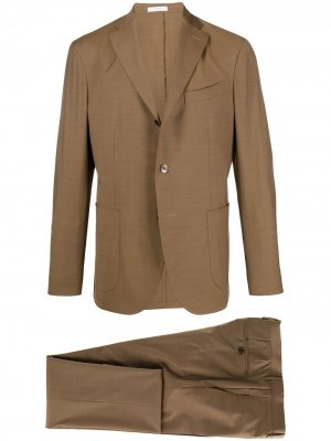 Костюм-двойка K-Suit с однобортным пиджаком Boglioli. Цвет: нейтральные цвета