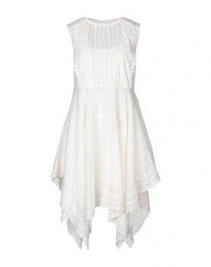 Короткое платье ANTIK BATIK. Цвет: слоновая кость