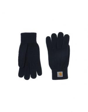Перчатки CARHARTT. Цвет: темно-синий