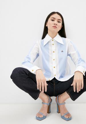 Рубашка Vivienne Westwood. Цвет: голубой