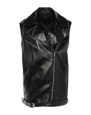 Куртка PLEASE. Цвет: черный