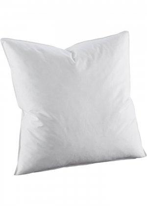 Подушка перьевая жёсткая bonprix. Цвет: белый