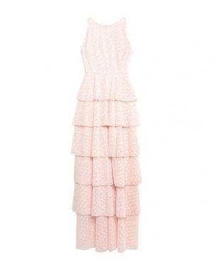 Длинное платье MANGANO. Цвет: розовый