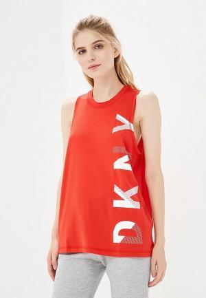Майка DKNY PERFORMANCE. Цвет: красный