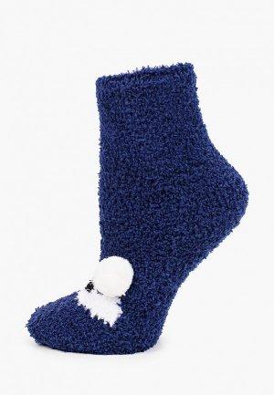 Носки Infinity Lingerie. Цвет: синий