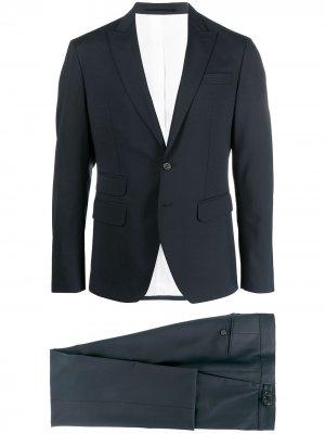 Костюм с однобортным пиджаком Dsquared2. Цвет: синий