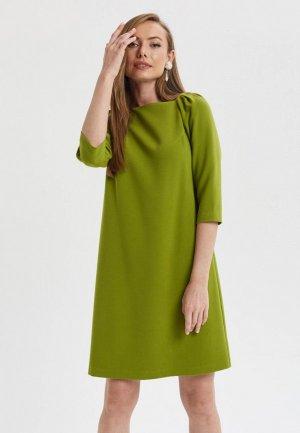 Платье Akimbo. Цвет: зеленый