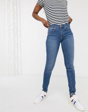 Зауженные джинсы -Синий Wrangler