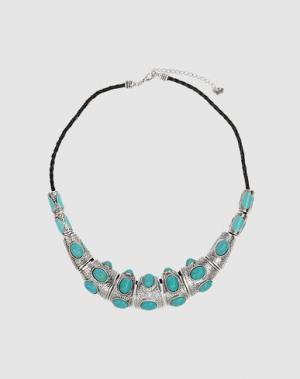 Ожерелье FRIIS COMPANY. Цвет: бирюзовый