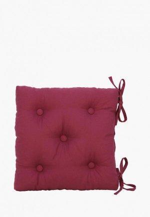 Подушка на стул Kauffort Нosta. Цвет: бордовый