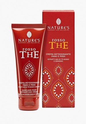 Крем для рук Nature's Harmony and Wellbeing и ног Rosso The, 75 мл. Цвет: белый