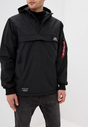 Куртка утепленная Alpha Industries WP Anorak. Цвет: черный