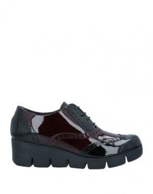Обувь на шнурках THE FLEXX. Цвет: красно-коричневый