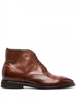 Ботинки на шнуровке Alberto Fasciani. Цвет: коричневый