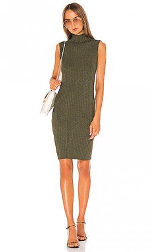 Мини платье 525. Цвет: зеленый
