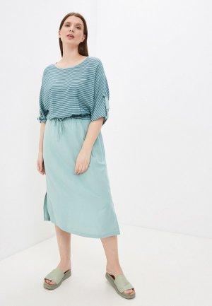 Платье Electrastyle. Цвет: бирюзовый