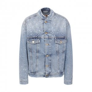 Джинсовая куртка Alexandre Vauthier. Цвет: синий