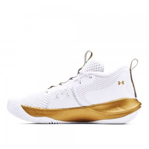 Embiid One Basketball Shoes Under Armour. Цвет: белый