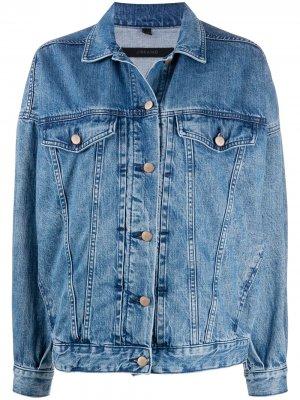 Джинсовая куртка Drew J Brand. Цвет: синий