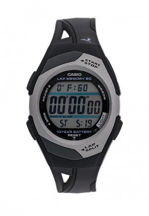 Часы Casio Sport STR-300C-1. Цвет: черный