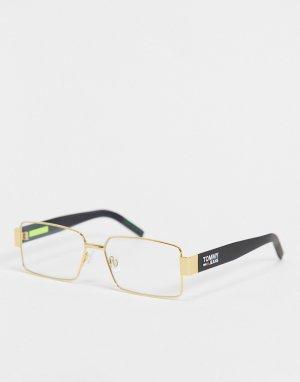 Солнцезащитные очки унисекс с затемненными стеклами 0005/S-Голубой Tommy Jeans