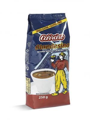 Растворимое какао Carraro Cacao  Olandesino 250г. Цвет: коричневый