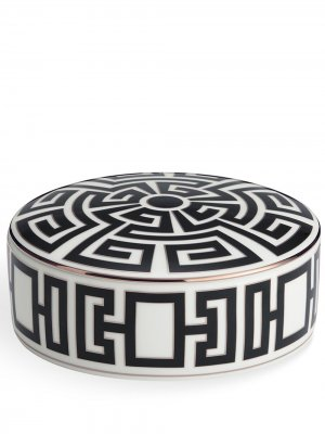 Labirinto trinket box (13cm) Richard Ginori. Цвет: черный