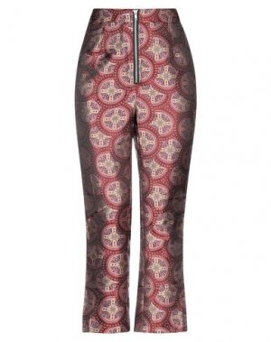 Повседневные брюки GLAMOROUS. Цвет: кирпично-красный