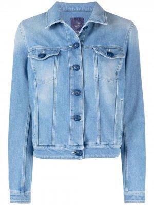 Укороченная джинсовая куртка Jacob Cohen. Цвет: синий