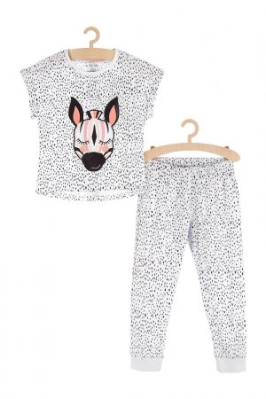 Пижама для девочек 5.10.15.. Цвет: белый