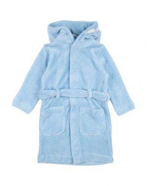 Банный халат NAME IT®. Цвет: небесно-голубой