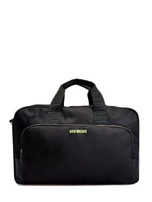 Дорожная сумка Next 3.0 в спортивном стиле BIKKEMBERGS. Цвет: черный