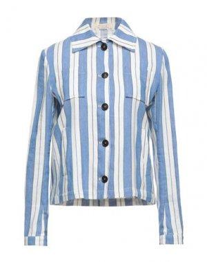 Пиджак MASSIMO ALBA. Цвет: лазурный