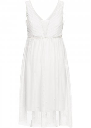 Свадебное платье bonprix. Цвет: белый