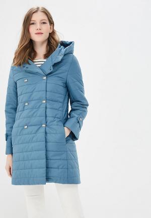 Куртка Doroteya. Цвет: бирюзовый