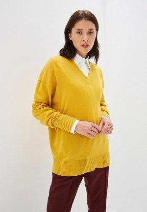 Пуловер Calvin Klein. Цвет: желтый