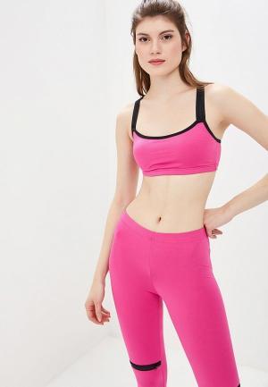 Топ спортивный Emdi. Цвет: розовый
