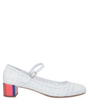 Туфли EMPORIO ARMANI. Цвет: белый