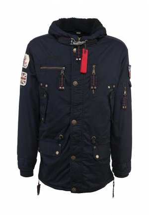 Куртка утепленная Lonsdale LO789EMJH514. Цвет: синий