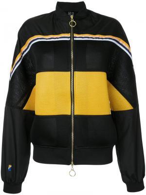 Куртка-бомбер Wild Card P.E Nation. Цвет: чёрный