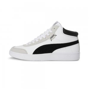 Кеды Court Legend SL Collar PUMA. Цвет: белый