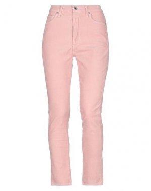 Повседневные брюки CITIZENS OF HUMANITY. Цвет: розовый