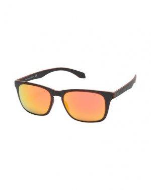 Солнечные очки ALSTECA. Цвет: черный