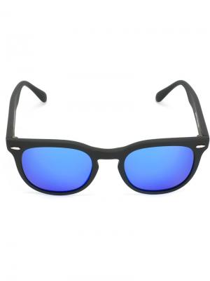 Солнцезащитные очки Memento Spektre. Цвет: чёрный