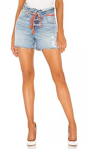 Джинсовые шорты sloane Hudson Jeans. Цвет: none