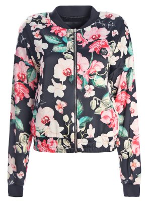 Легкая куртка-бомбер Flowers PHILIPP PLEIN