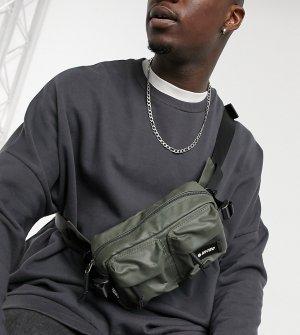 Оливковая сумка-кошелек на пояс -Зеленый цвет Hi-Tec